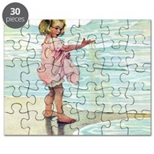 A Child at the Beach_SQ Puzzle