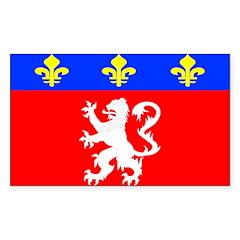 Lyonnais Rectangle Decal