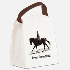 Proud Horse Mom Canvas Lunch Bag