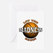 The Madness Begins Greeting Cards (Pk of 10)