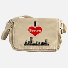 I Love Boston Messenger Bag