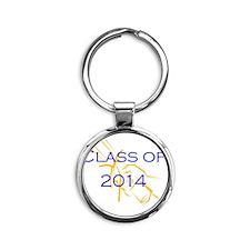 Class of 2014 Round Keychain
