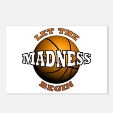 The Madness Begins Postcards (Package of 8)