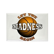 The Madness Begins Rectangle Magnet (10 pack)