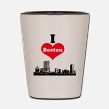 I Love Boston Shot Glass