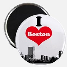 I Love Boston Magnet
