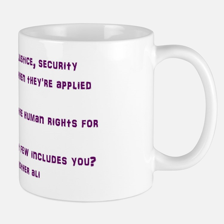 civil war lyric Mug