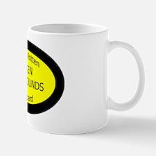 Spoiled Silken Windhounds On Board Oval Mug