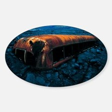 Bus and lava flow Decal