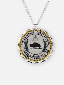 uss la moure county patch tr Necklace