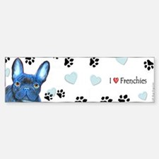 French Bulldog Bumper Bumper Bumper Sticker