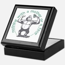 Nothing with a mother or a face offic Keepsake Box