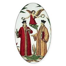 Cosmas and Damian, Christian saints Decal