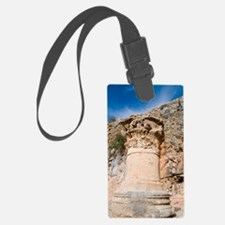 Corinthian Capital Luggage Tag