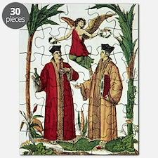 Cosmas and Damian, Christian saints Puzzle