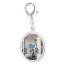 Cairngorm Weather Station Silver Oval Charm