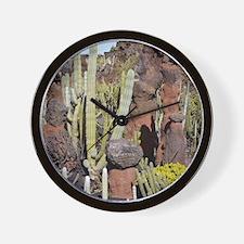 Cactus garden, Lanzarote Wall Clock
