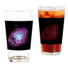 Crab nebula Drinking Glass