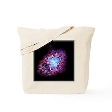 Crab nebula Tote Bag