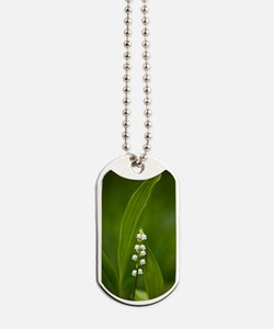 Convallaria majalis (Lily of the Valley) Dog Tags