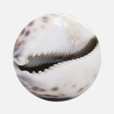 Cowrie shell Round Ornament