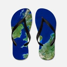 British Isles Flip Flops