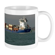 Container Vessel in Southampton Water Mug