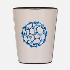 Buckminsterfullerene molecule Shot Glass