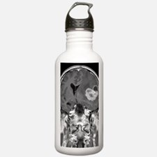 Brain cancer, MRI scan Sports Water Bottle