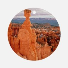 Bryce Canyon in Utah Round Ornament
