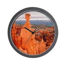 Bryce Canyon in Utah Wall Clock
