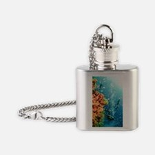 Coral Reef Red Sea, Ras Mohammed Flask Necklace