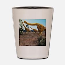 Brachiosaurus dinosaurs Shot Glass