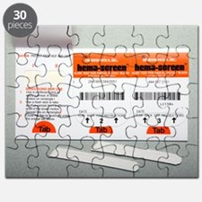 Bowel cancer screening kit Puzzle