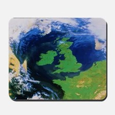 British Isles from space Mousepad
