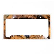 Bornean orangutan License Plate Holder