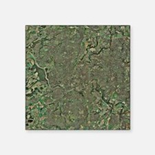 "Bristol, UK, aerial image Square Sticker 3"" x 3"""