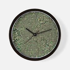 Bristol, UK, aerial image Wall Clock