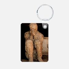 Body cast, Pompeii Keychains