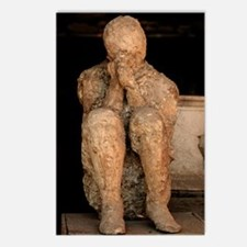 Body cast, Pompeii Postcards (Package of 8)