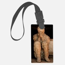 Body cast, Pompeii Luggage Tag