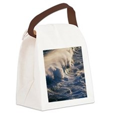 Breaking wave Canvas Lunch Bag