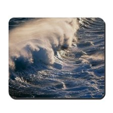 Breaking wave Mousepad