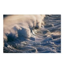 Breaking wave Postcards (Package of 8)