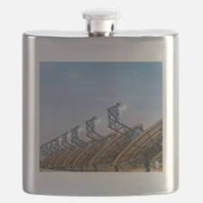 Concentrating solar power plant Flask