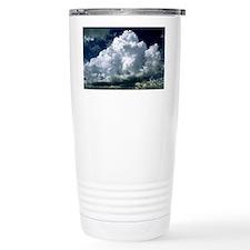 Billowing bank of cumulus cloud Travel Mug