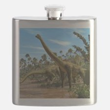Brachiosaurus dinosaurs Flask