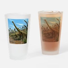 Brachiosaurus dinosaurs Drinking Glass