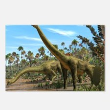 Brachiosaurus dinosaurs Postcards (Package of 8)