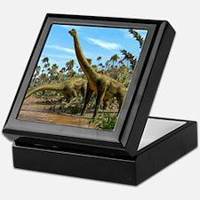 Brachiosaurus dinosaurs Keepsake Box